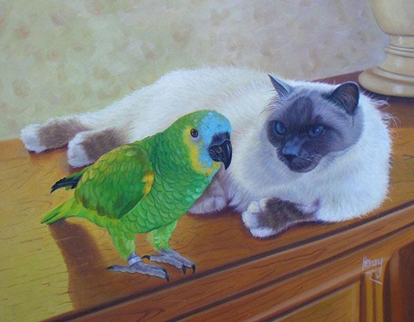 retratos online de mascotas