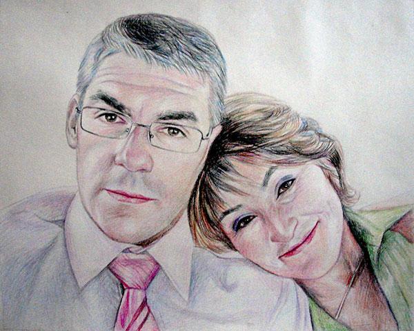 Couple en portrait