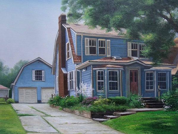 pinturas al oleo, personalizado, arte online de casa