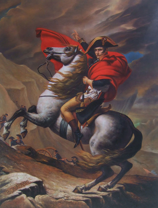 convert picture to painting man riding horse medieval times