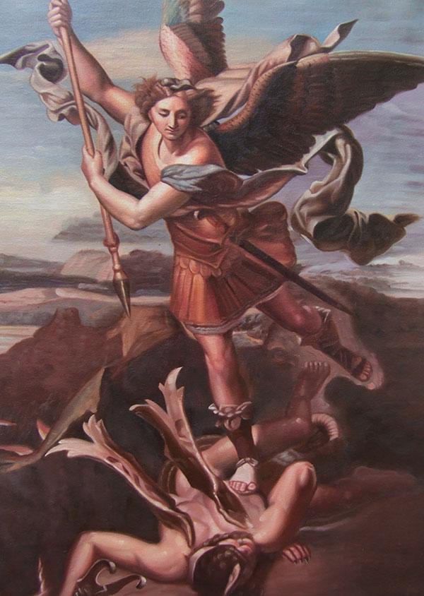 renaissance style custom oil painting local painters