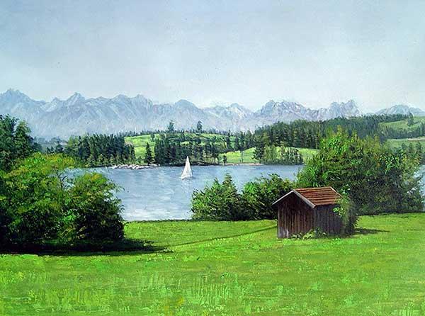 cuadros de paisajes