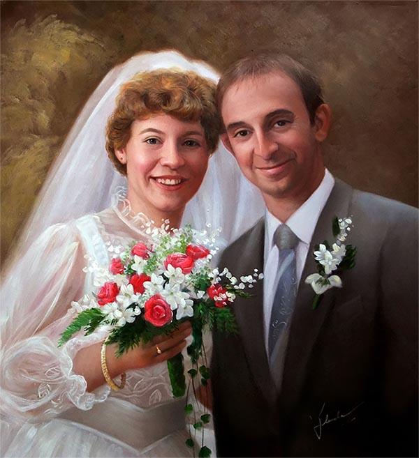 pintores de bodas