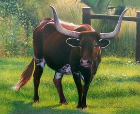 custom pet portrait farm animals