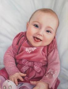 Artiste peindre Bébé