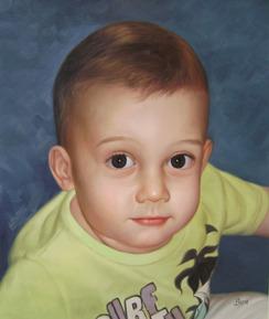 retratos pintados a mano desde una foto, retrato barato