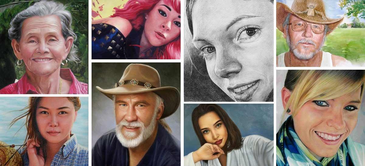 Portraits individuels