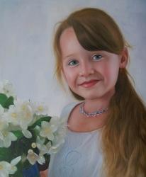 Peinture fille