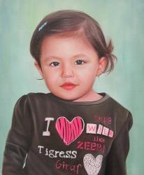 portrait visage enfant