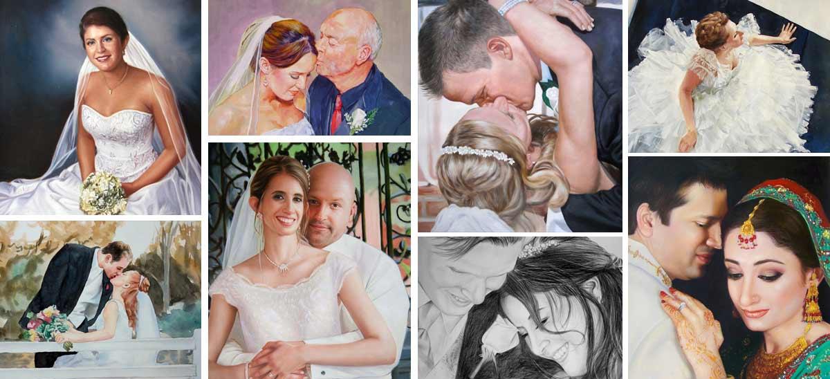 Retratos de casamientos