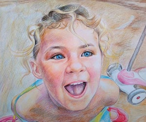 Children Pencil Drawings
