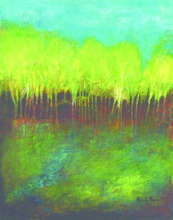 """Boone Sandy, """"Bottomland"""" Tennessee Watercolor Society"""