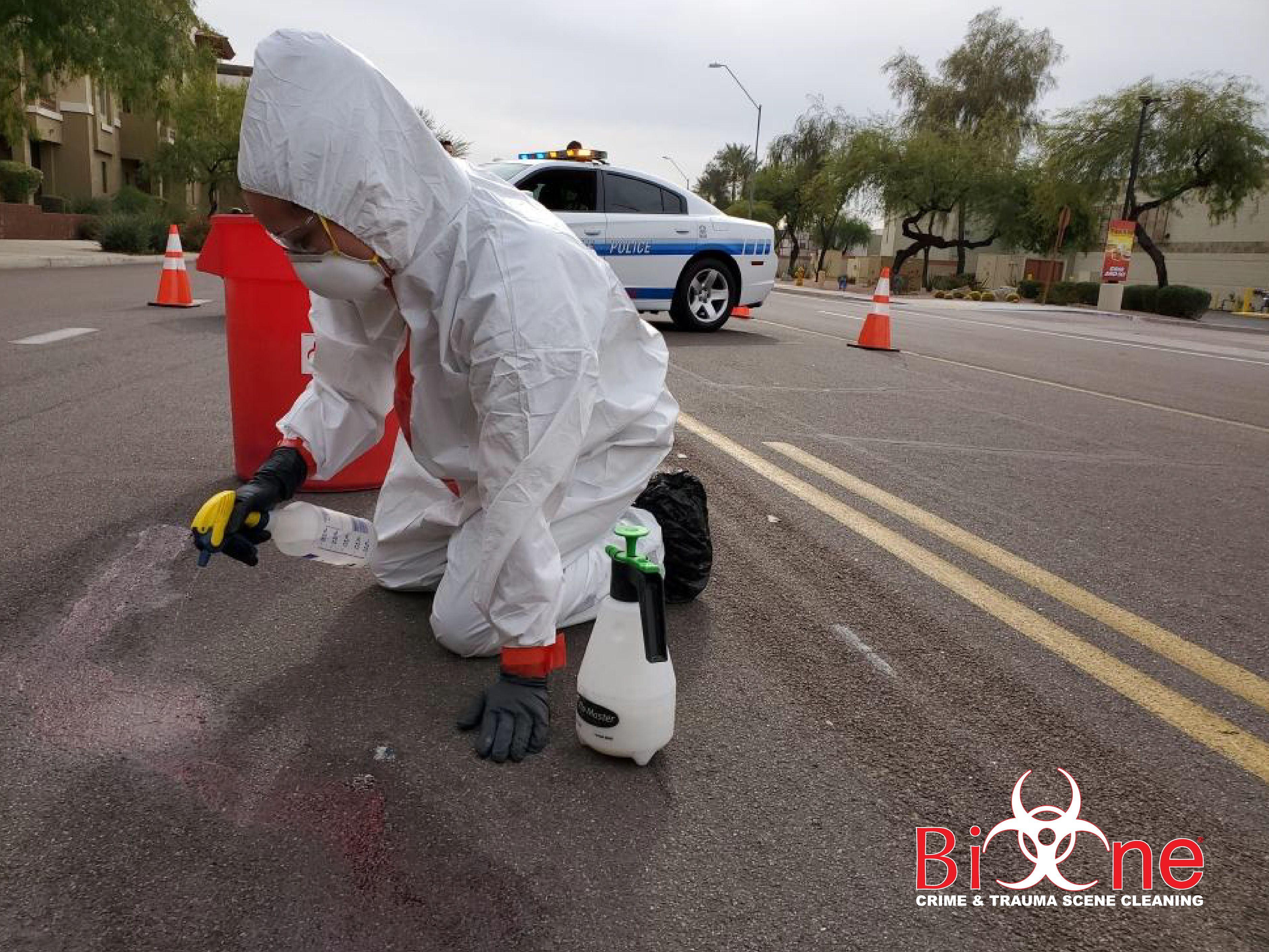 Bio-One works along with local law enforcement to assist victims of traumatic events.