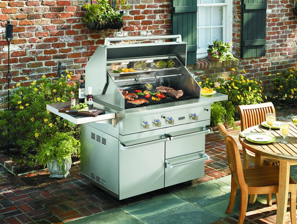 Le nouveau barbecue viking arrive en force - Barbecue electrique haut de gamme ...