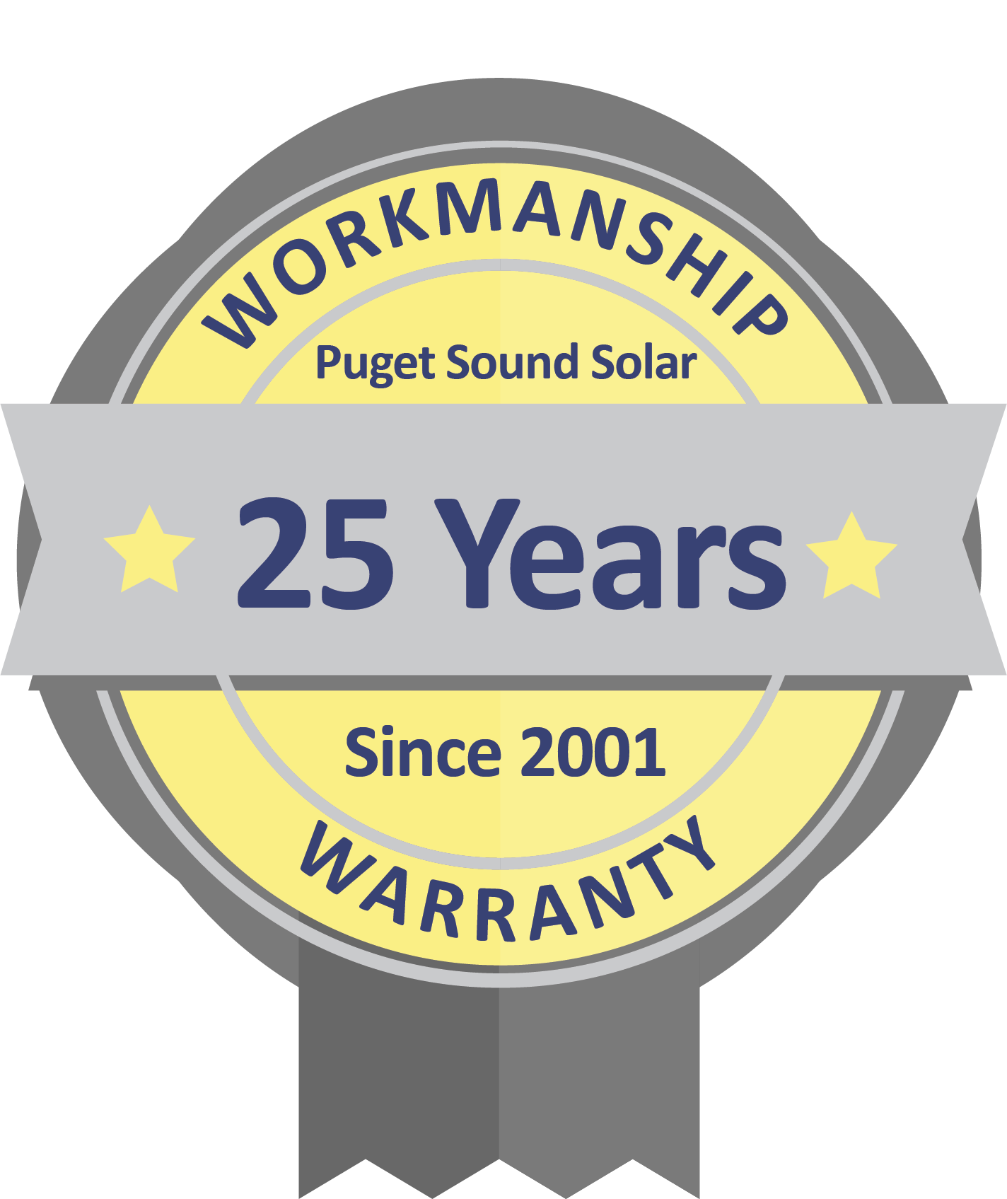 Puget Sound Solar 25-Year Workmanship Warranty
