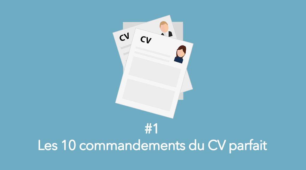 eotips  1   les 10 commandements du cv parfait