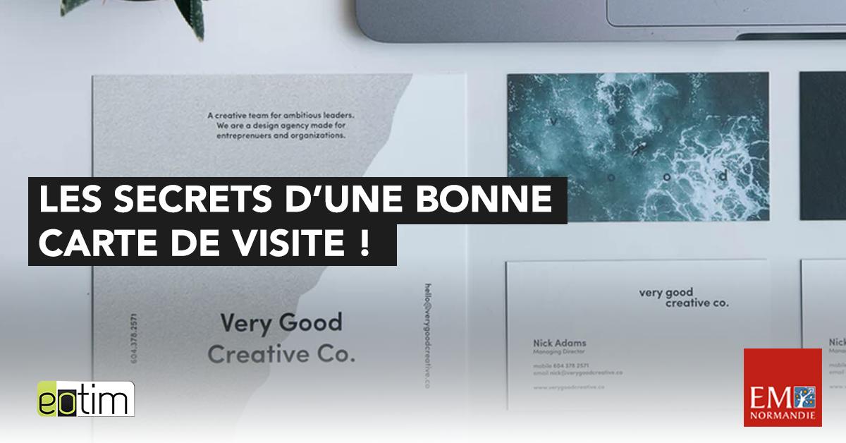 Eotips 90 Les Secrets Dune Carte De Visite Reussie