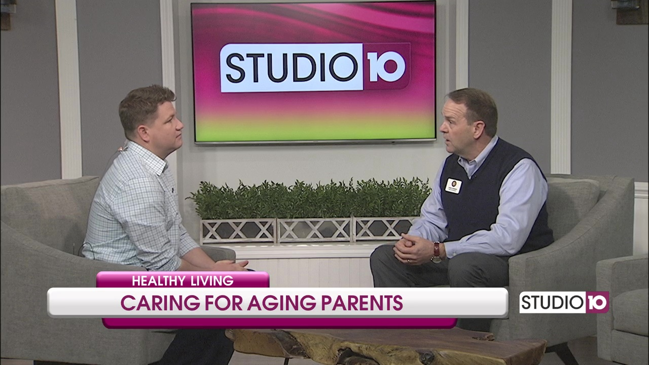 "Senior Care Authority owner David Johnson sits down with ""Studio 10"" in Mobile, Alabama"