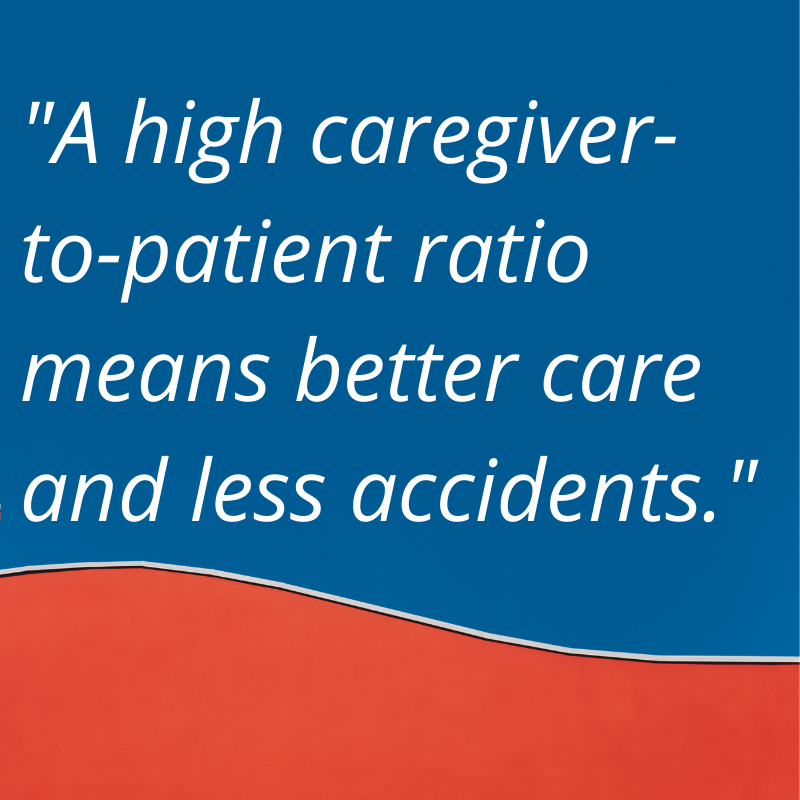 more caregivers to patients is better
