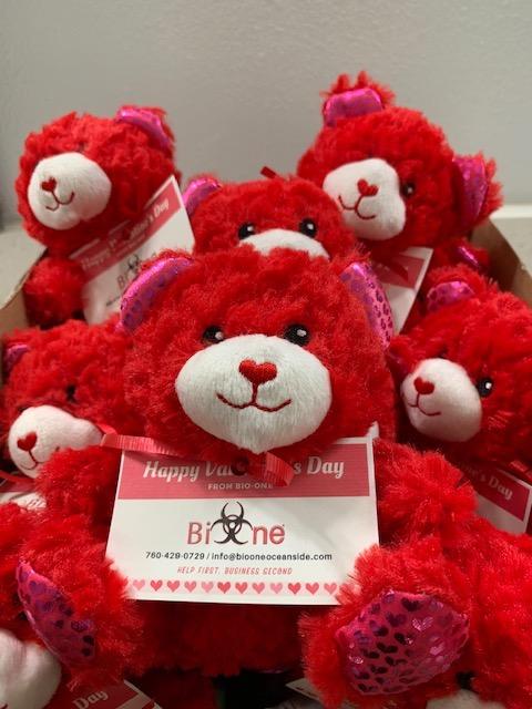 Bio-One Valentine's Day Bears