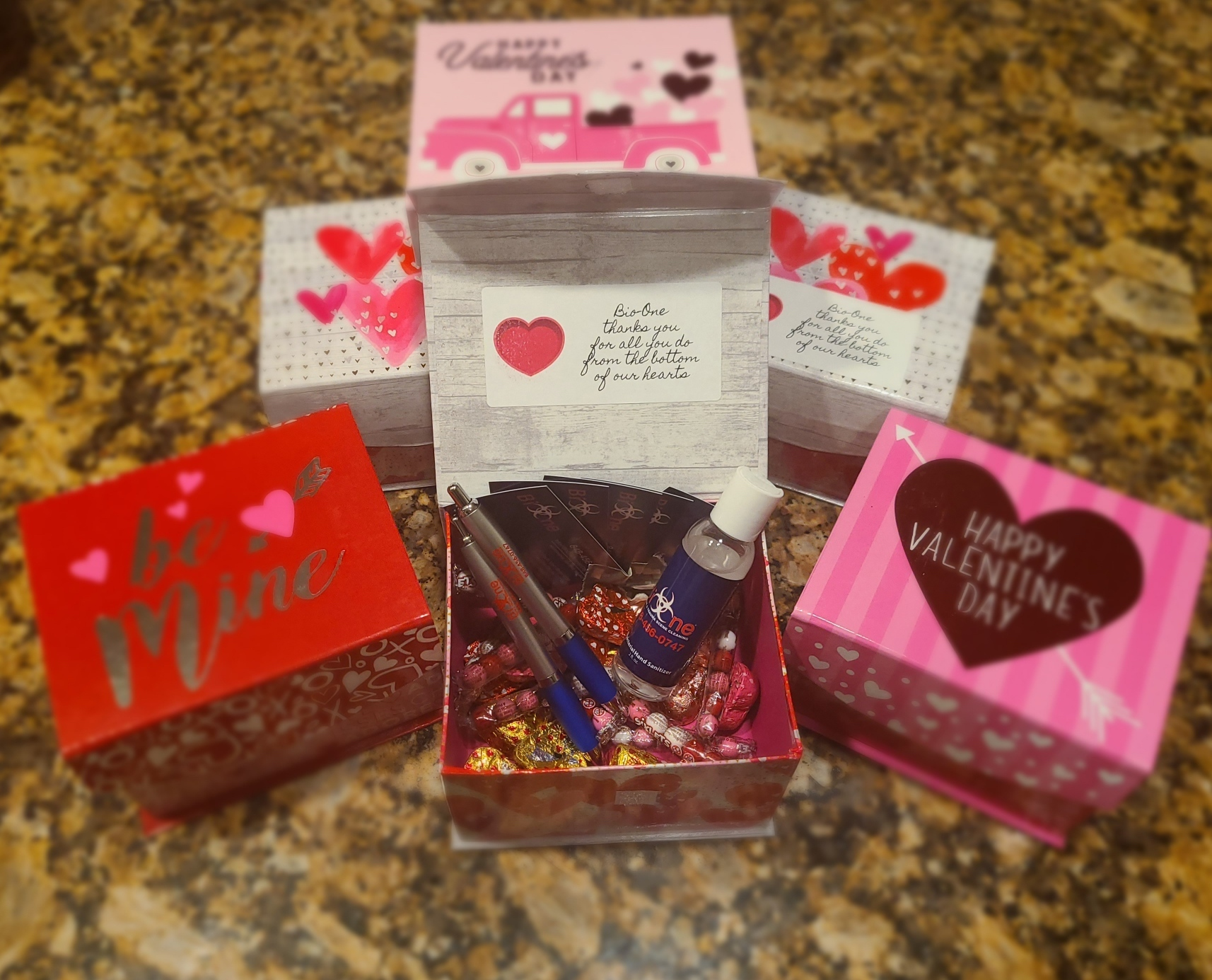 Bio-One Valentine's Day Gift Boxes