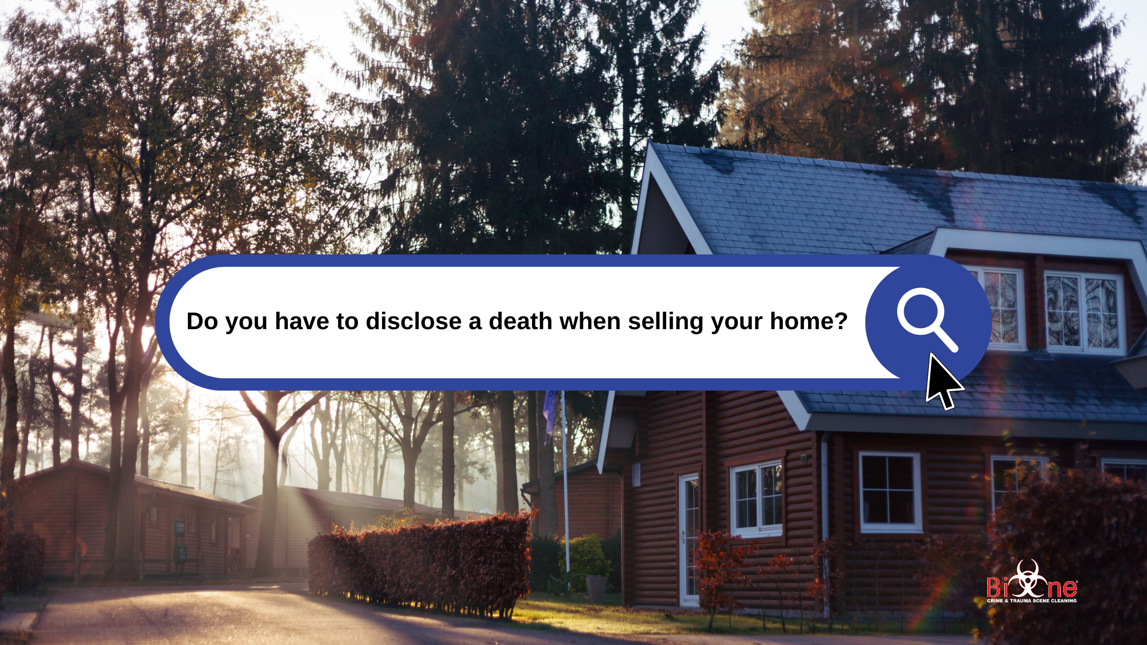 Disclosing death when selling a home