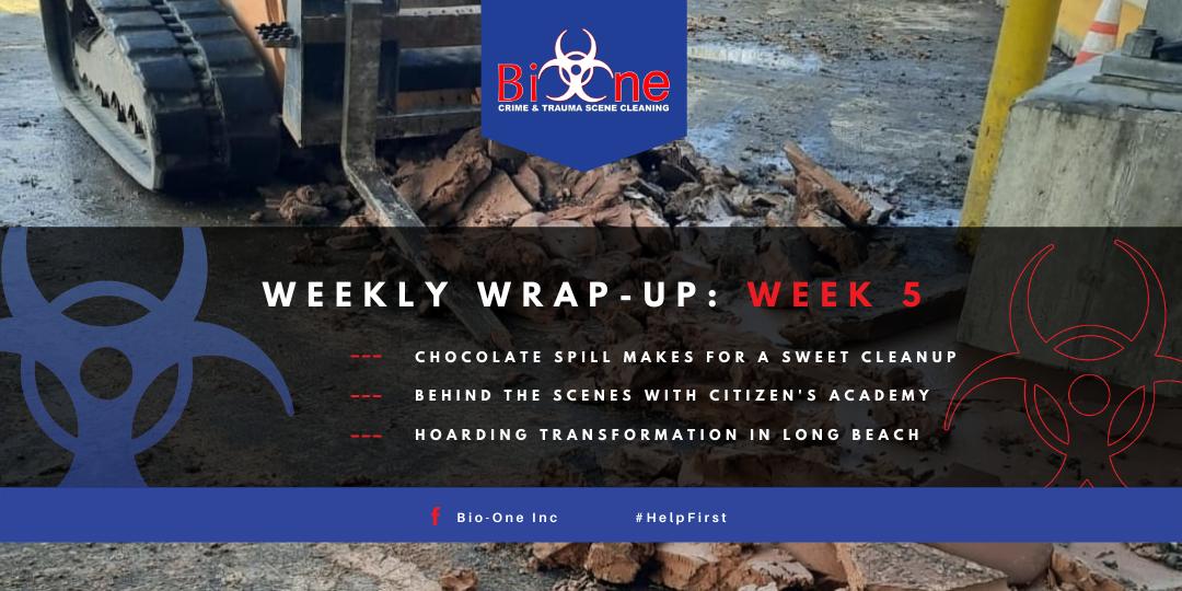 Bio-One Weekly Wrap-Up Week 4 Hoarding Trauma Scene Back the Blue