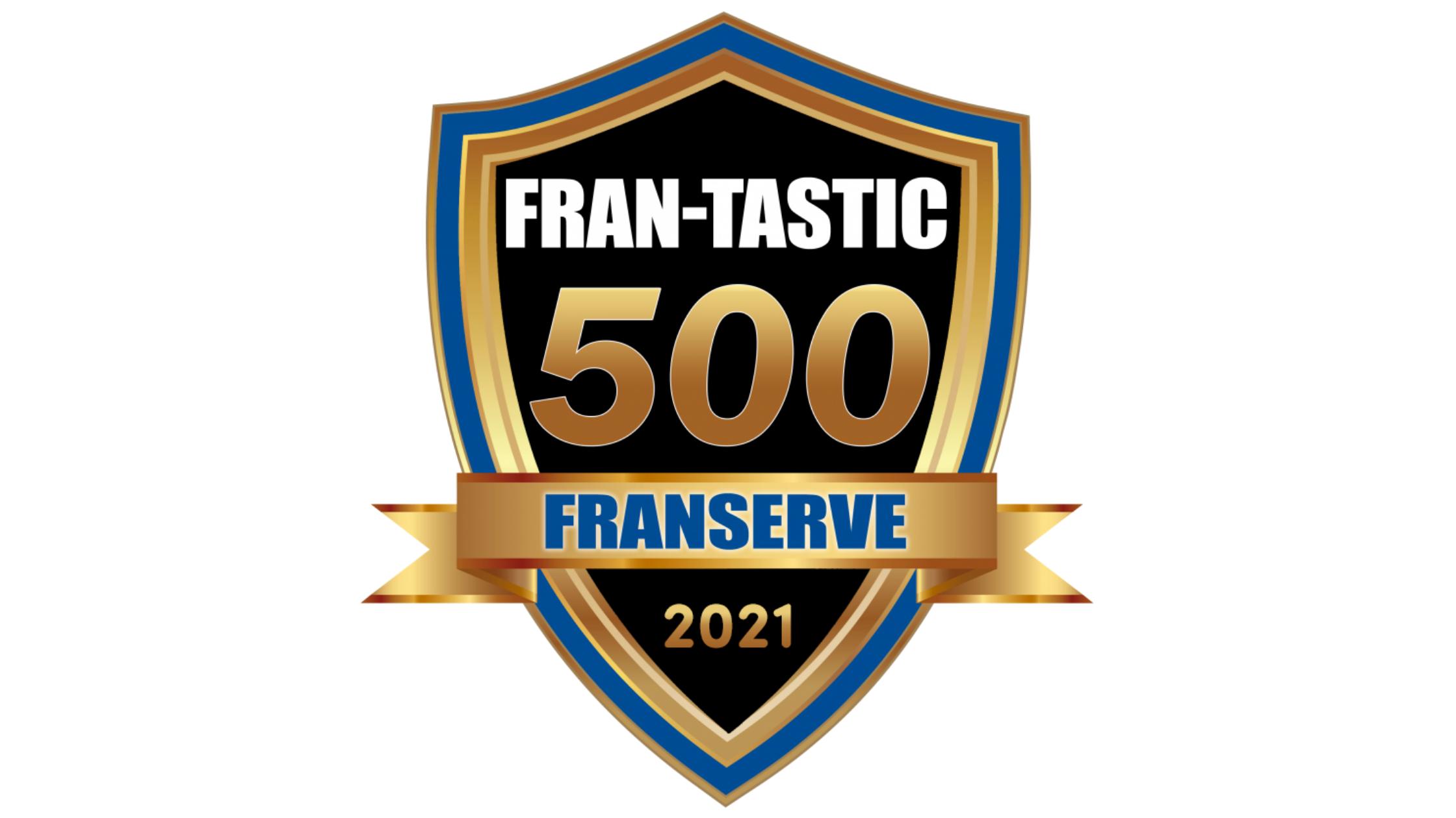 FranServe Inc FRAN-TASTIC 500 Award Logo