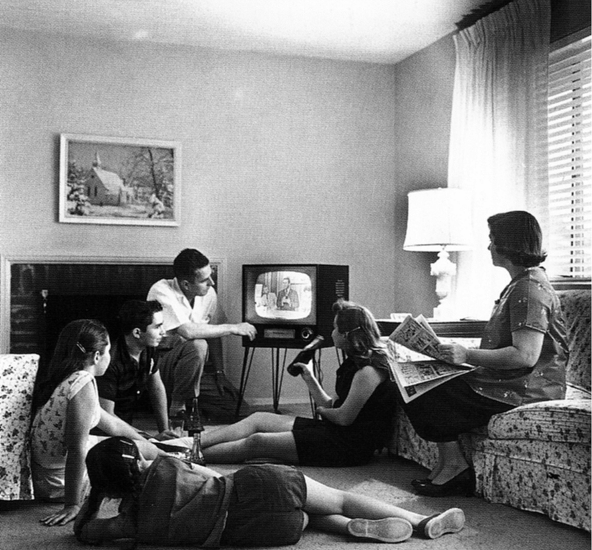 TV advertising in the 50's