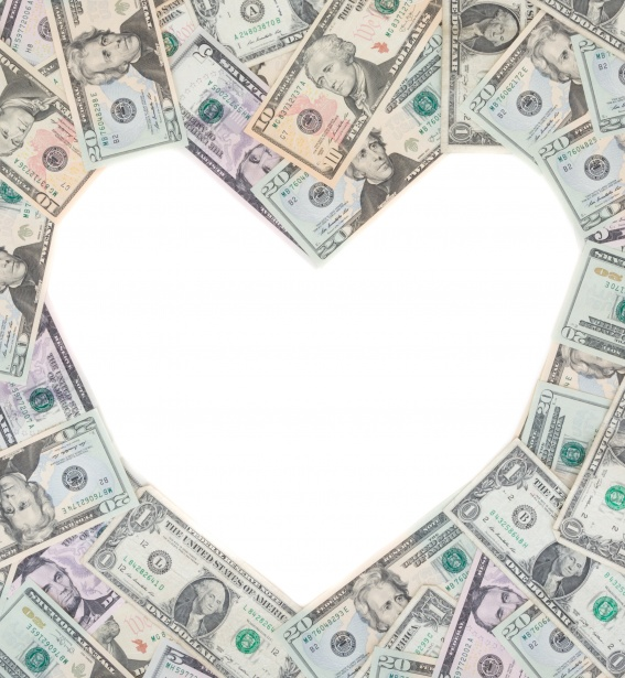 Estate planning money heart