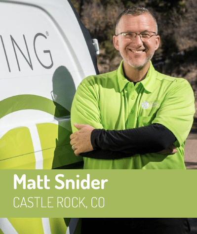 Matt Snider, owner of LIME Painting of Castle Rock