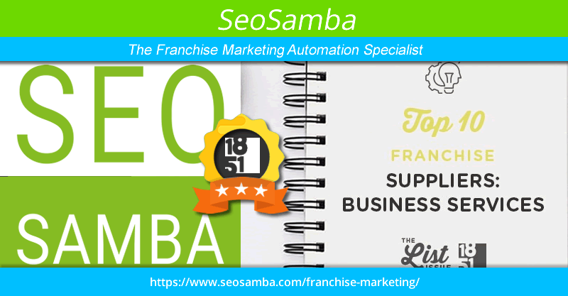 SeoSamba Listed as Top Business Supplier in the Franchise Industry by 1851 Franchise