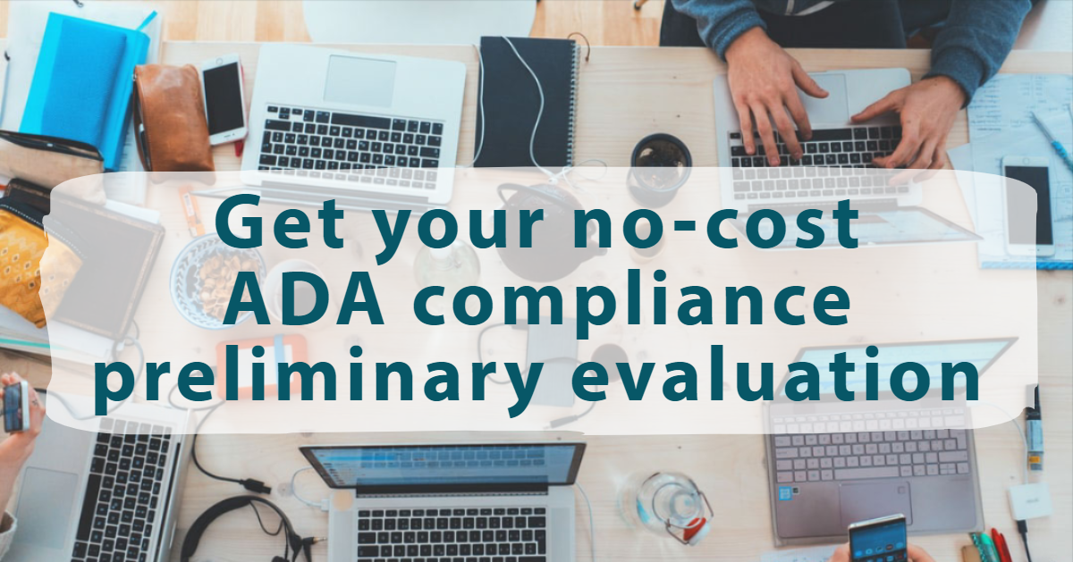No cost ADA compliance