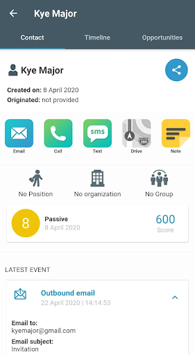 SeoSamba CRM Mobile Application
