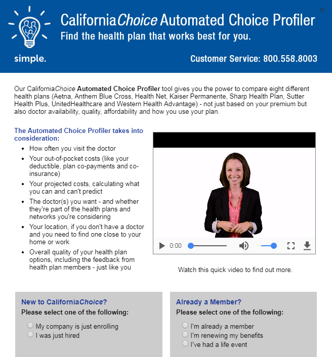 CaliforniaChoice: 5 Free Tools That Help Make Choosing Health