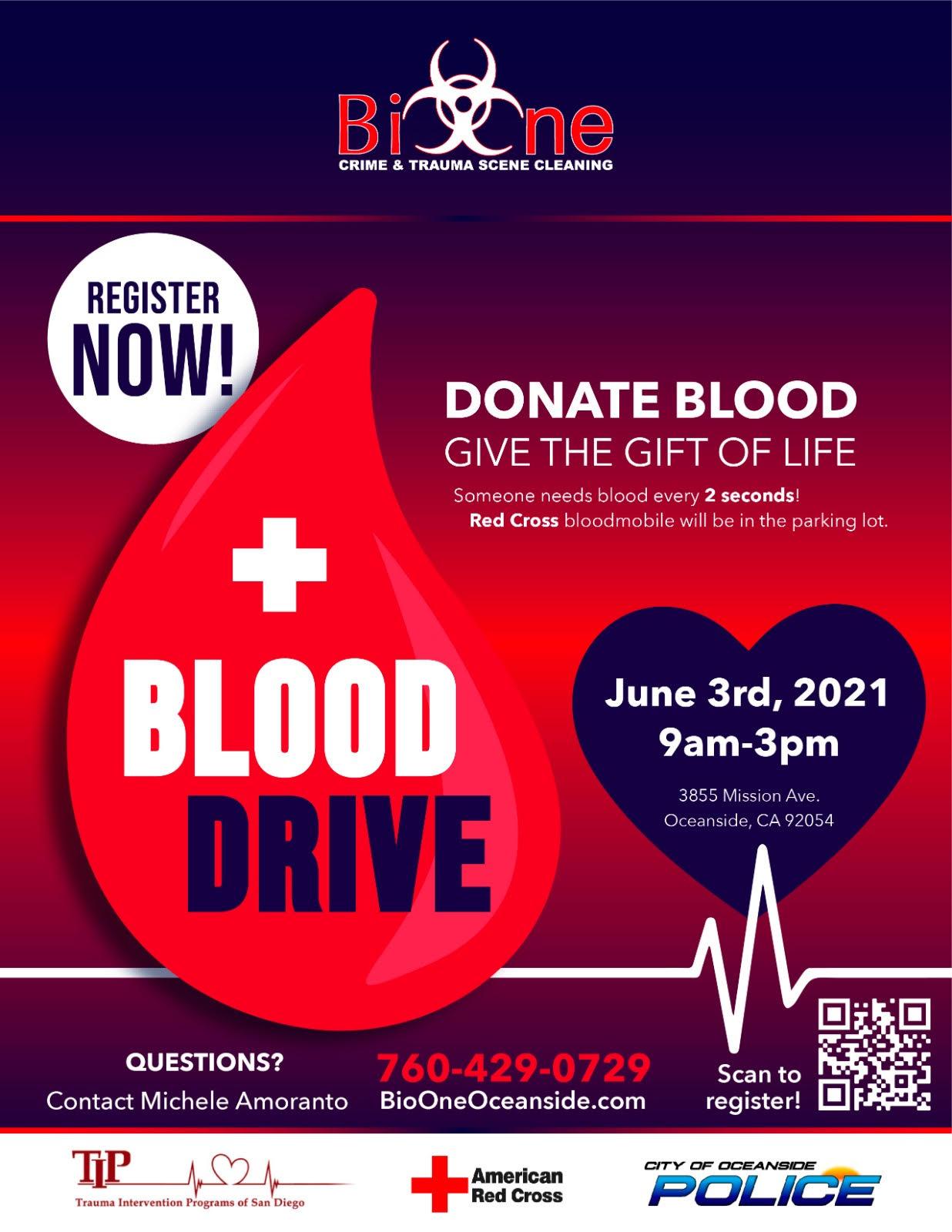 American Red Cross Blood Drive Registration