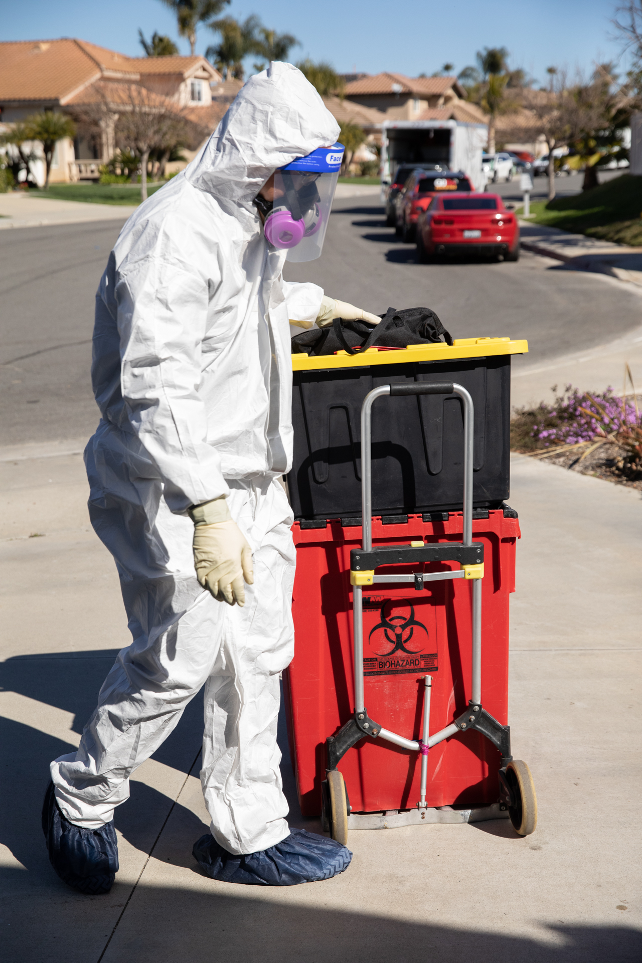 Bio-One biohazardous waste removal specialists are ready to help you in your greatest time of need.
