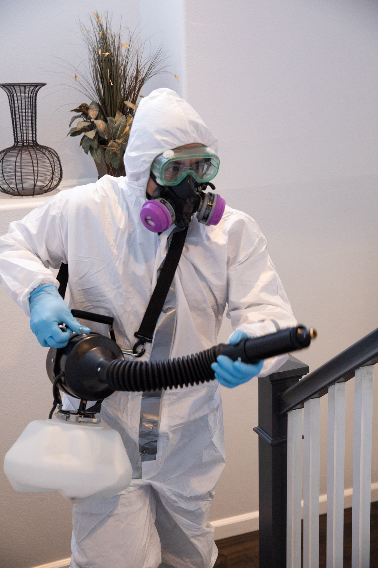 Our professional biohazard cleanup and decontamination services are available for Residential and Commercial properties!
