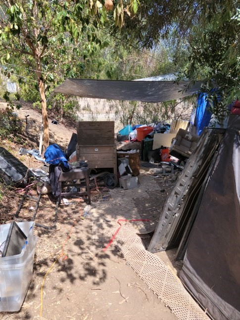 Homeless encampments often contain hazardous materials and waste that should be cleaned by professionals. Let our Bio-One of Orange Specialists help you!
