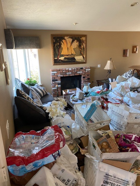 Hoarding situations carry multiple biohazards like falls, unsanitary living and risk of accidental fire.
