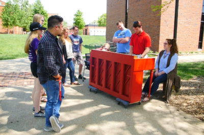 Street Piano Adds Beauty and Music to Campus