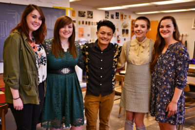 Central Seniors Showcase Art Projects