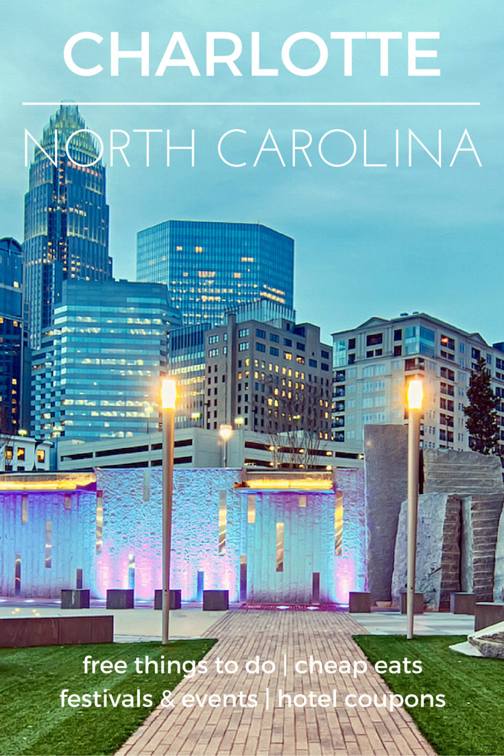 Fast-Paced Fun in Charlotte - Check out the destination guide to Charlotte and other major U.S. cities by HotelCoupons.com