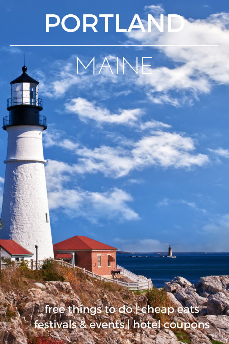 Historic sites and natural beauty come together for a perfect vacation destination - Check out the destination guide to Portland, Maine and other major U.S. cities by HotelCoupons.com