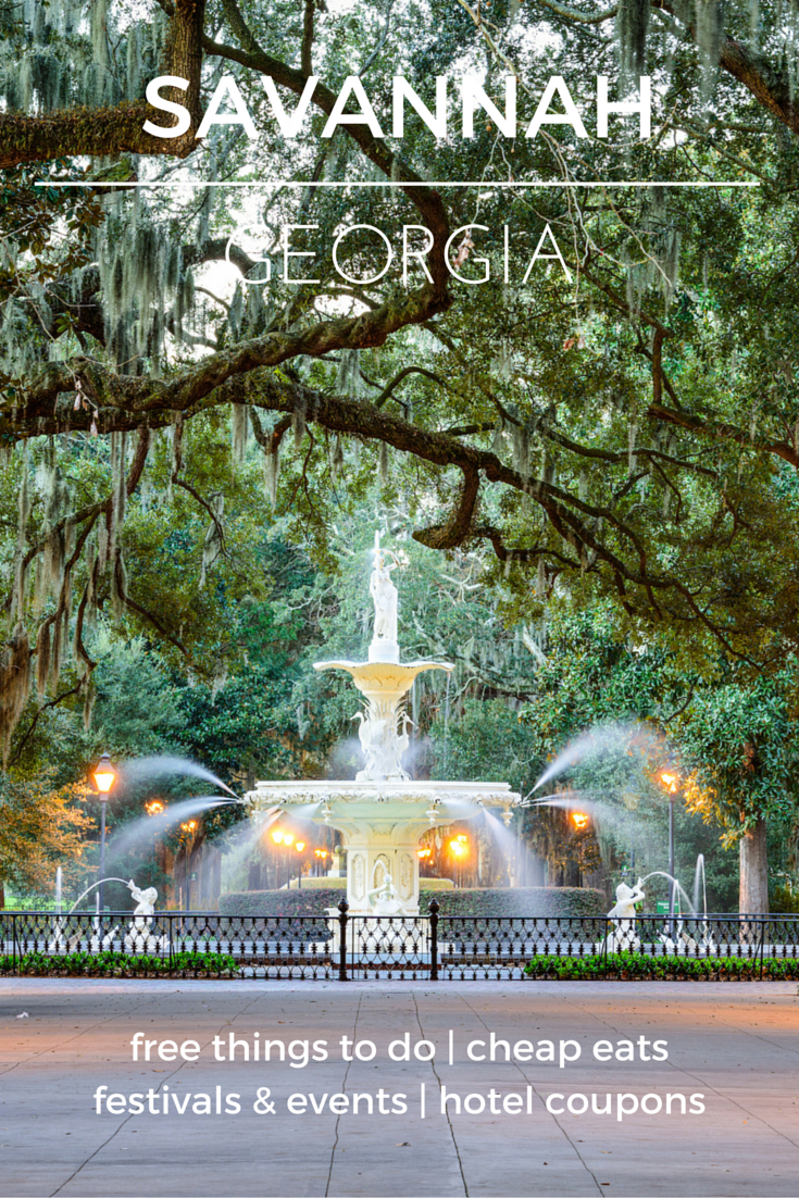 Take a trip to one of the south's most beautiful historic cities - Check out the destination guide to Savannah and other major U.S. cities by HotelCoupons.com