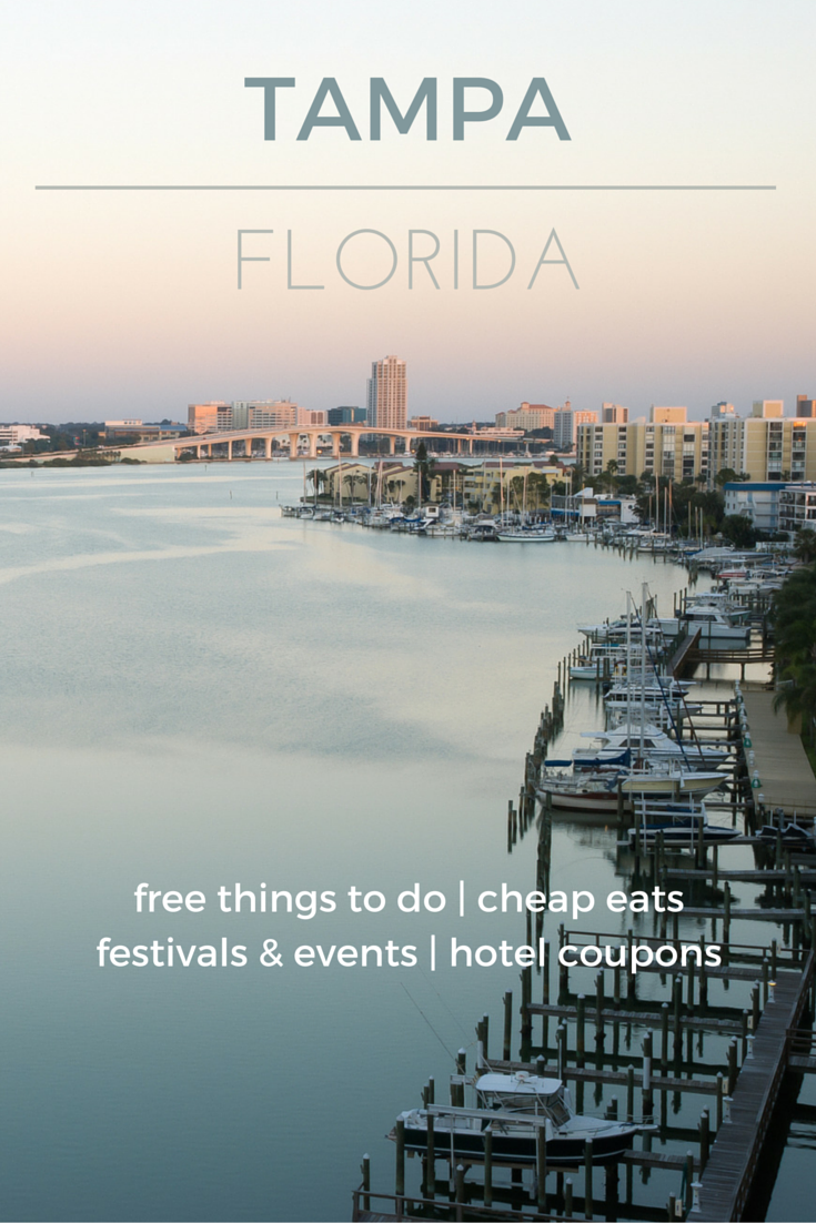 Enjoy art, history, culture, and budget fun near the beach - Check out the destination guide to Tampa and other major U.S. cities by HotelCoupons.com