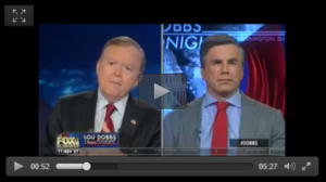 Video: Tom Fitton on Fox Business Discussing the Mueller Investigation