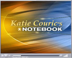 Katie Couric's Notebook graphic | NewsBusters.org