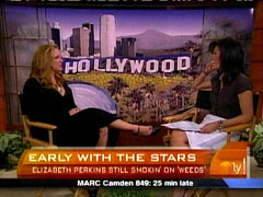 Julie Chen and Elizabeth Perkins, CBS