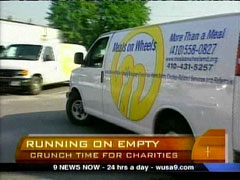 Meals on Wheels Truck, CBS